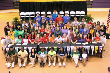 2016 Academic Signing